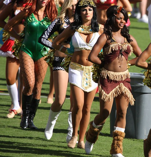 San Diego Chargers Dancers: Charger Cheerleader Costume & San Diego Chargers
