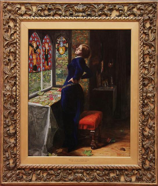 Mariana, John Everett Millais, 1851