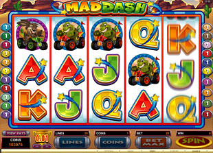 Mad Dash slot game online review