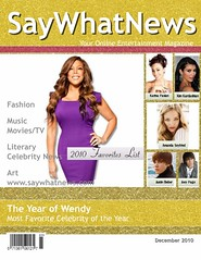 2010 Favorites List Magazine Cover