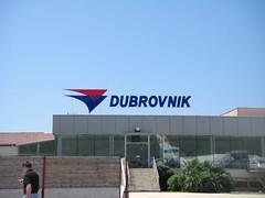 Dubrovnikの空港