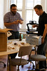 Adam and Raphael need doonuuut (roboppy) Tags: adam donuts raphael seriouseats frittellis