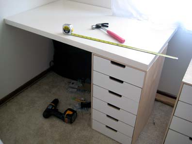 New Desk in progress