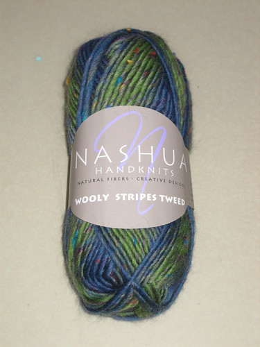 Nashua Handknits Wooly Stripes Tweed - Viva Tweed