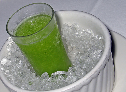 Intermezzo Cocktail:  The Green Goddess