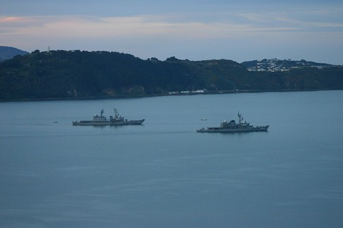 Warships over Wellington