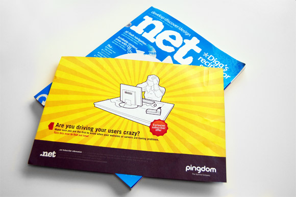 .net mag special subscriber offer (Pingdom!)