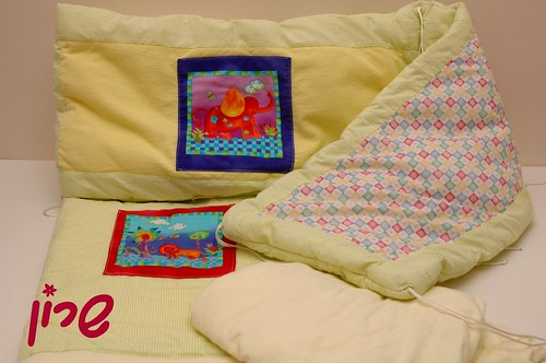 baby bed set components 2