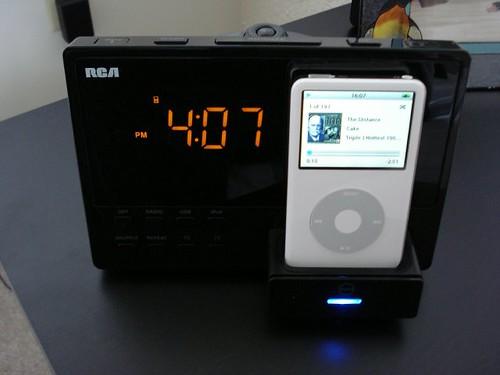 iPod Docked