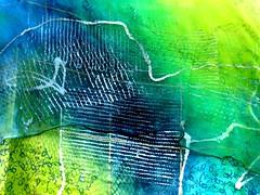 P1030882 (Marco Braun) Tags: blue abstract green lines vert bleu grn blau lignes abstrakt tissu abstrait linien stoff