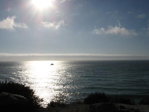 Pacific Ocean, late afternoon