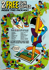 Froot Loops Fun Games Box (back) (Neato Coolville) Tags: 1974 70s 1970s kelloggs toucansam frootloops cerealbox toucansamfungames