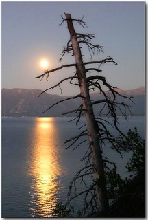 Lake Tahoe Moonrise