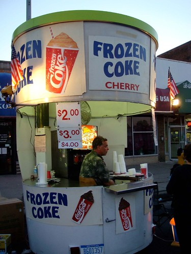 Frozen Coke? Really?