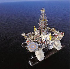 The Deepwater Horizon in the Gulf of Mexico