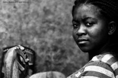 Sguardo intenso - intense look (Stefano Mazzoni) Tags: africa trip portrait blackandwhite bw holiday southafrica sadness nikon fifa bn ritratto biancoenero tristezza journy d300 worldcup2010 stefanomazzoni