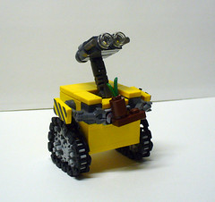 Walle 4 (Model Gal) Tags: lego walle creationsforcharity2010