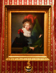 Vigée Le Brun's Madame Perregaux with frame