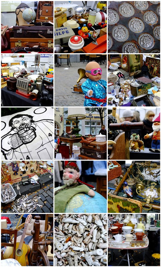 Flea market Aachen