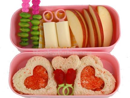 Bento #114 - Hearts & Rings