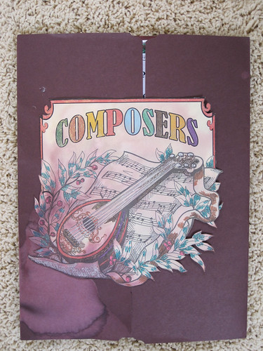 Composer Lapbook Cover
