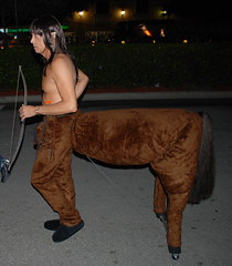 Centaur - Halloween 2010 - The Shoppes at Wilton Manors, FL (jrozwado) Tags: usa man halloween costume florida northamerica centaur wiltonmanors