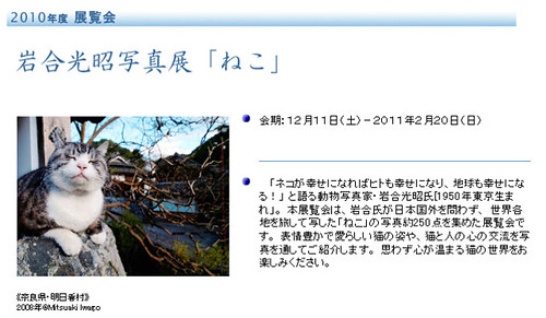 新潟県立万代島美術館 2010年度展覧会