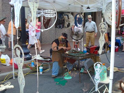 Kotah Moon metal sculpting demo