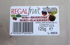 Brombeeren / Blackberries (Label)