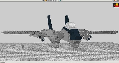 LEGO F-14A tomcat 14