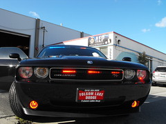 Dodge Challenger Slicktop Patrol (EVS Mark) Tags: blue red folsom police pd dodge siren challenger undercover copswest