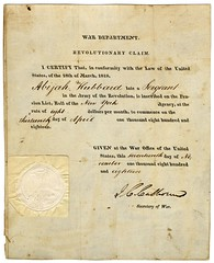 Revolutionary War Pension Claim for Abijah Hub...
