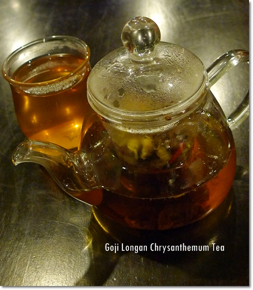 Goji Longan Chrysanthemum Tea