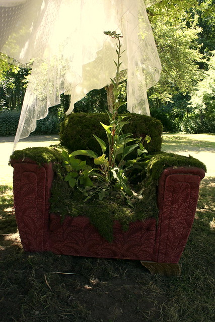 Mossy Chair