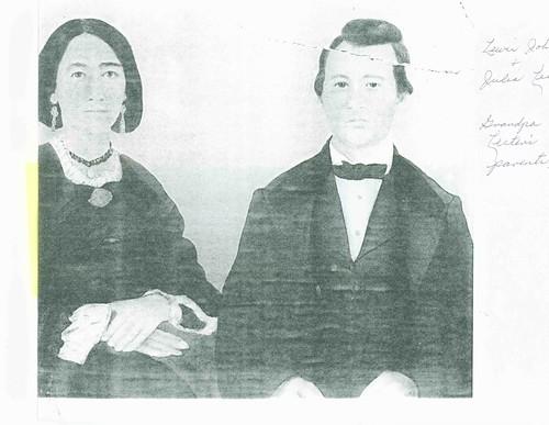 Lewis John andJulia Lester