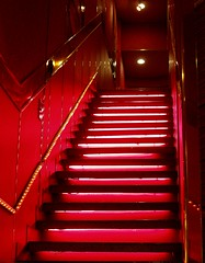 Red staircase 1 - by tanakawho