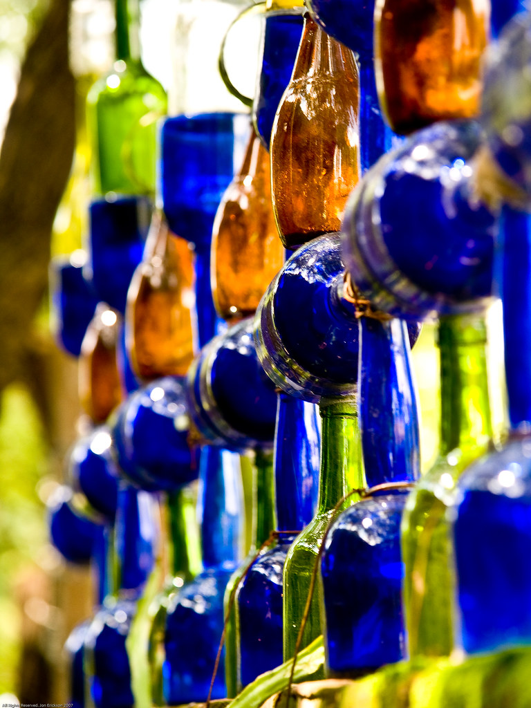 Wall of bottles 2