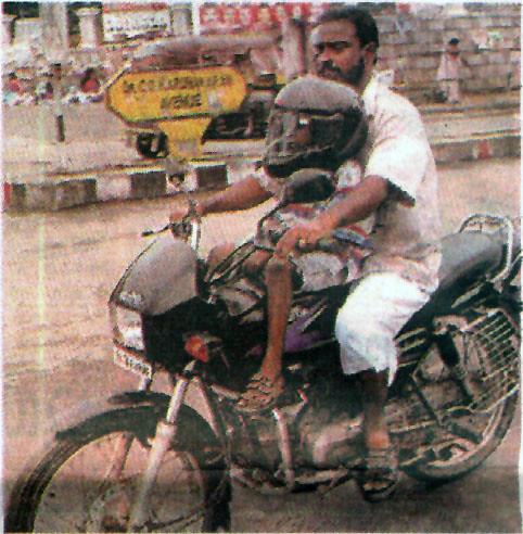 New Helmet Rule in Kerala, India