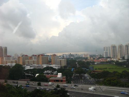 Skats no Singapūras hoteļa loga 12. stāvs