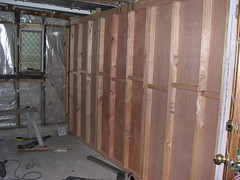 New Exterior Load Bearing Bathroom Wall