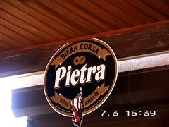 Comme en juillet dernier, fin de parcours à la Pietra