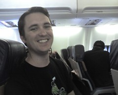 Will Wheaton is my Plane Seat Mate!