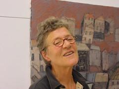 Mayke Sassen dans son atelier
