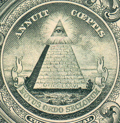 One Dollar Bill Pyramid by vhauri.