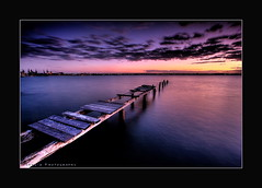 Abandoned Love (Garry - www.visionandimagination.com) Tags: ocean travel winter sunset sea water clouds sunrise photography dawn bay lowlight rust bravo dusk oz decay australia wideangle brisbane explore forgotten elite queensland australien rotten aus australis 1022mm garry peer australie twighlight moreton novideo longtimeexposure themoulinrouge supershot magicdonkey tonemapped xmaspresent interestingness92 i500 hdr3 perfectangle  infinestyle goldenphotographer diamondclassphotographer flickrdiamond auselite bestofaustralia elitephotography flickrslegend lastminutexmas visionandimaginationcom visionandimagination wwwvisionandimaginationcom