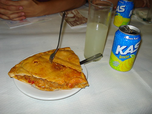 Empanada and lemon soda. Photo by Wendy A F G Stengel; some rights reserved.