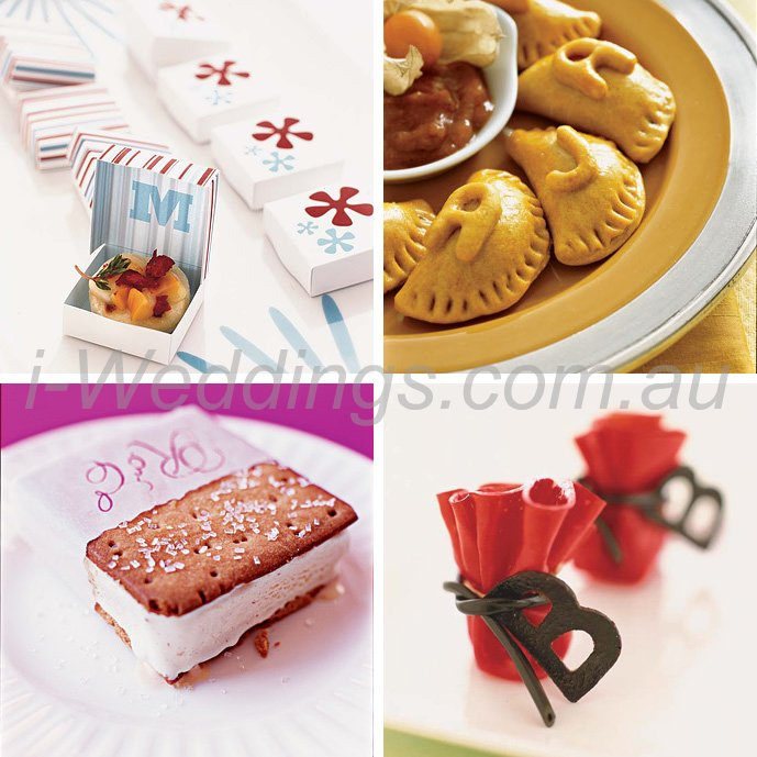 iLoveThese ideas for monogrammed food