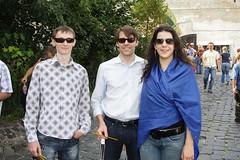 Alex, Michael, and Ana in Kiev. (Ana B's Pics) Tags: ukraine kiev kievpechersklavra cavesmonastery