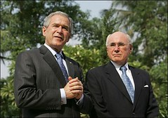 hon George W Bush and John_Howard xo (oghab_e_iran  ) Tags: usa newyork love freedom virginia dc washington bush war peace unitedstates mr iran god islam iraq great sydney mother terrorist australia tehran  luray bless      haward          amrica  khomeini   zeyneb sepah                semocracy