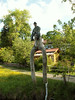 Soiener See Versoehnungsglocke Statue